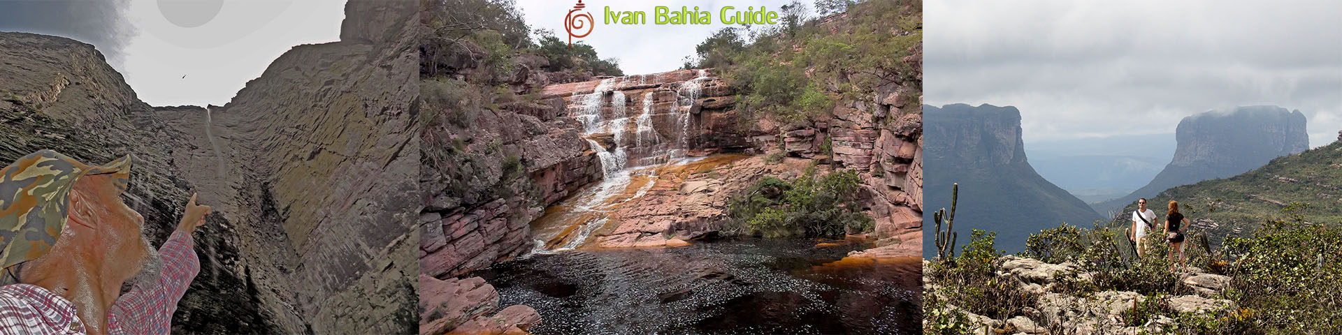 Ivan Bahia tour-guide / hiking in Chapada Diamantina National Park (aka 'the Brazilian Grand Canyon') mountain views,