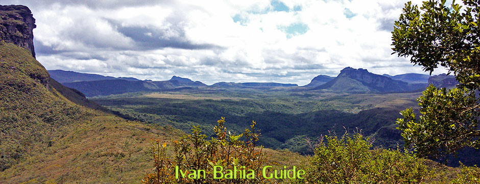 Unforgettable views in the Valé do Pati with Ivan Salvador da Bahia & Chapada Diamantiana national park's official tour guide
